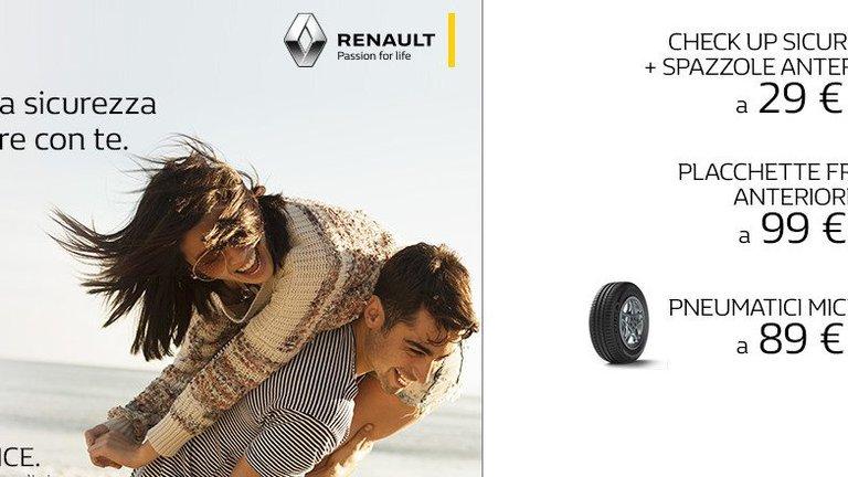 Offerta tagliando Renault a Monza e provincia