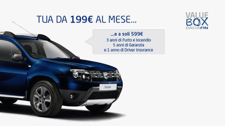 Promozione Dacia Duster