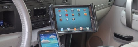 Supporto I-pad Renault